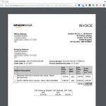 Amazon Invoice Bill Download