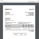 Amazon Invoice Bill Download