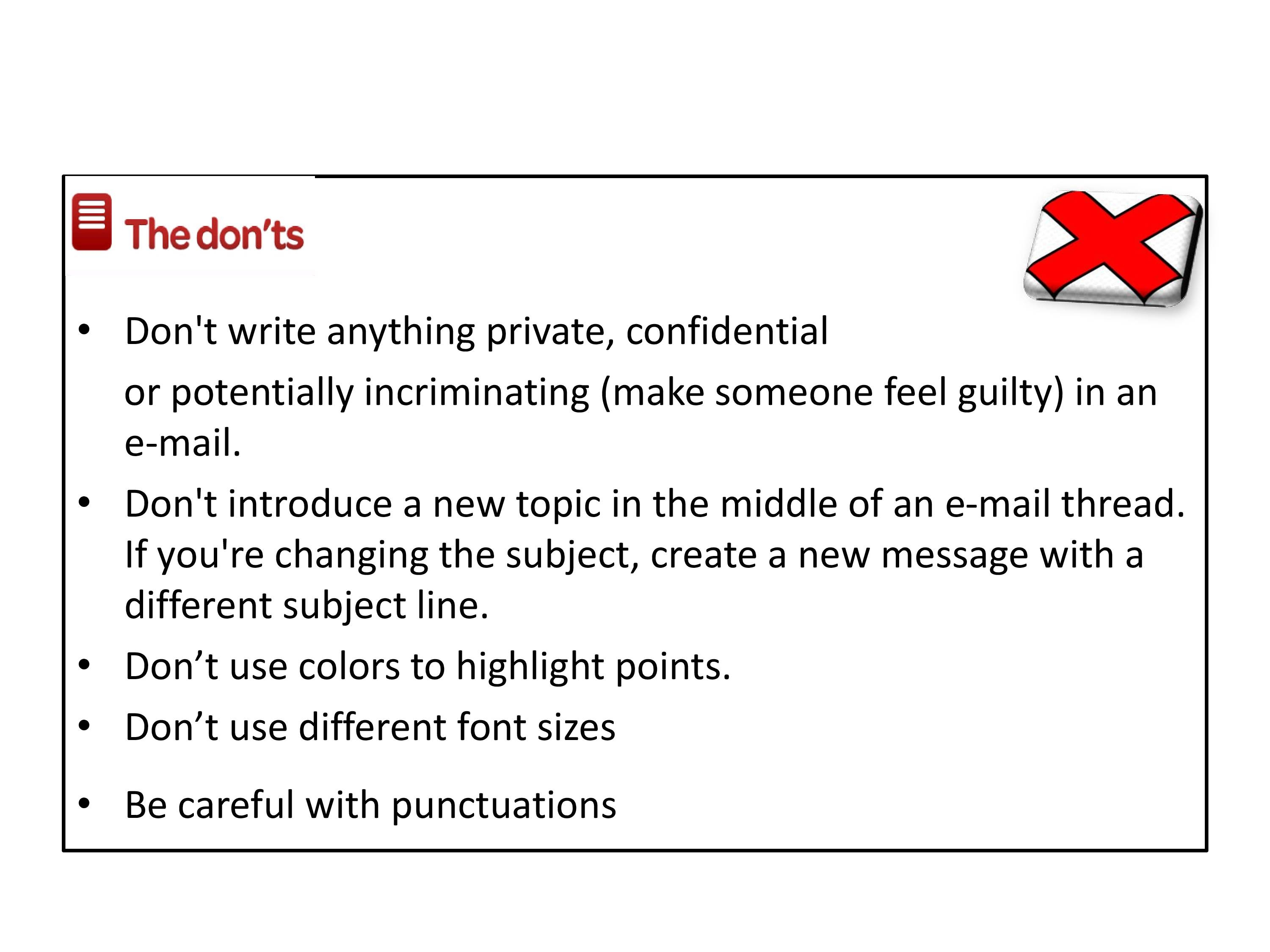 email etiquette powerpoint slides presentation on email writing in hd