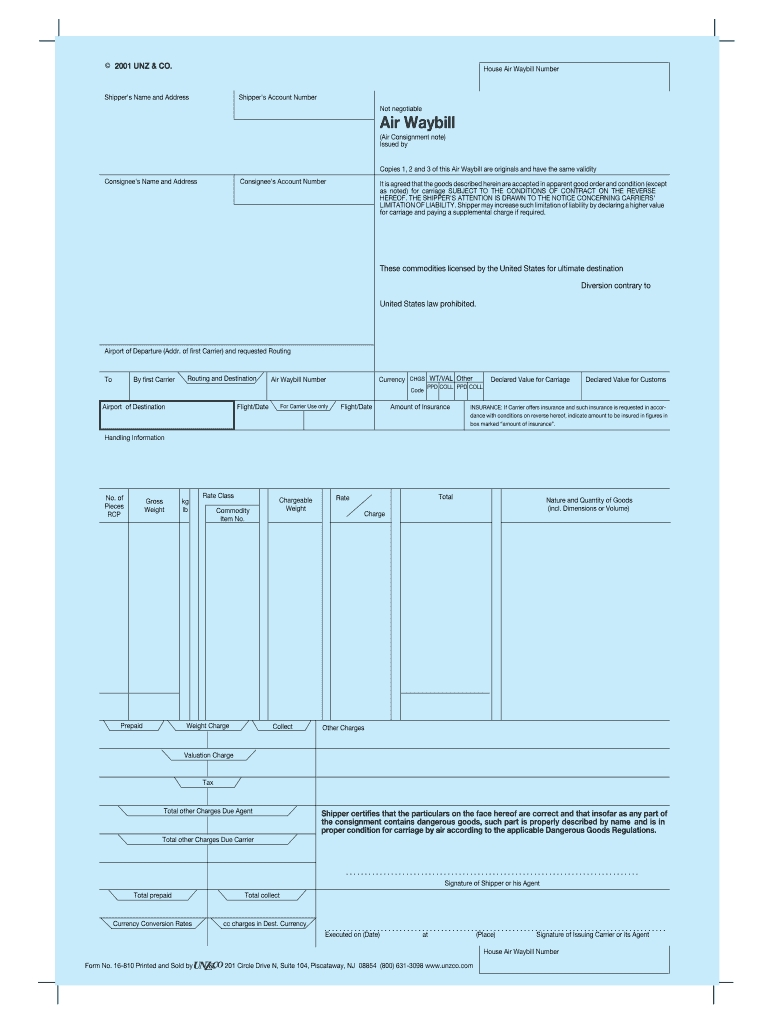 fedex air waybill template pdf fill online printable airway bill in business a blank copy