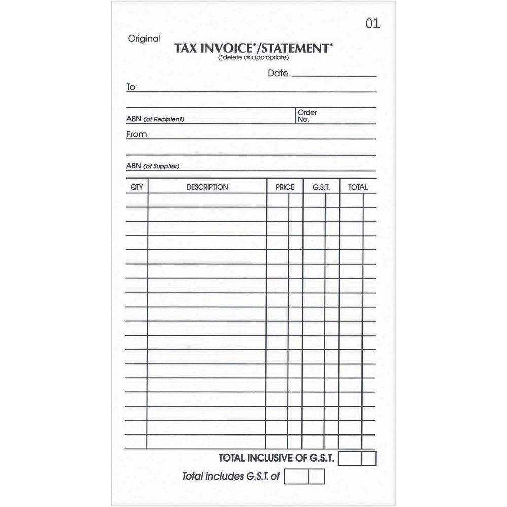 invoice statement invoice design inspiration freedownload olympic tax & invoice statement book templates
