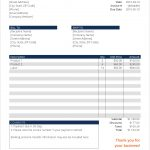 Word Invoice Template Please