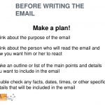 Presentation On Email Writing In Hd