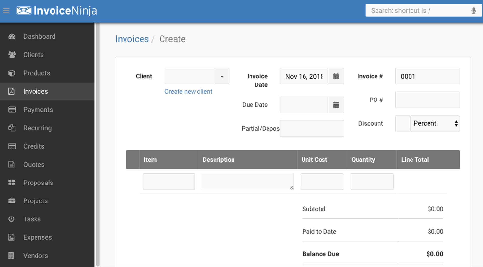 the best free invoice software for 2019 free invoice software small business