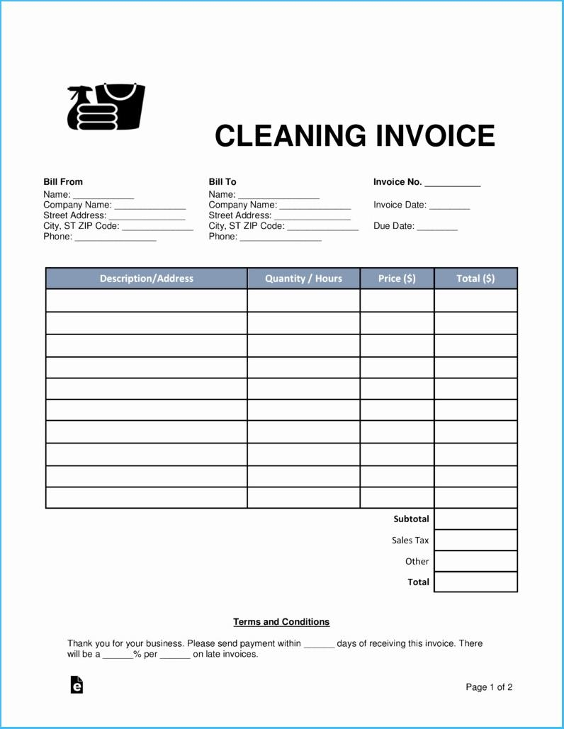 cleaning receipt template fitbowpartco free house cleaning receipt