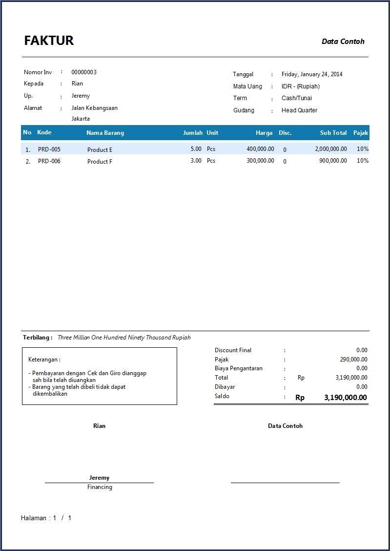contoh invoice pengertian invoice invoice adalah sebuah contoh packing list dan invoice