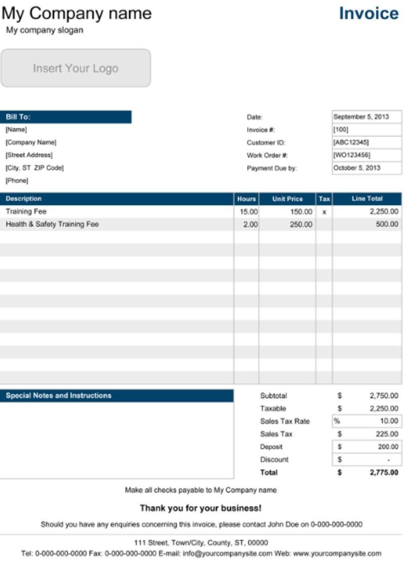 contoh invoice untuk beragam usaha anda contoh invoice dan proforma invoice