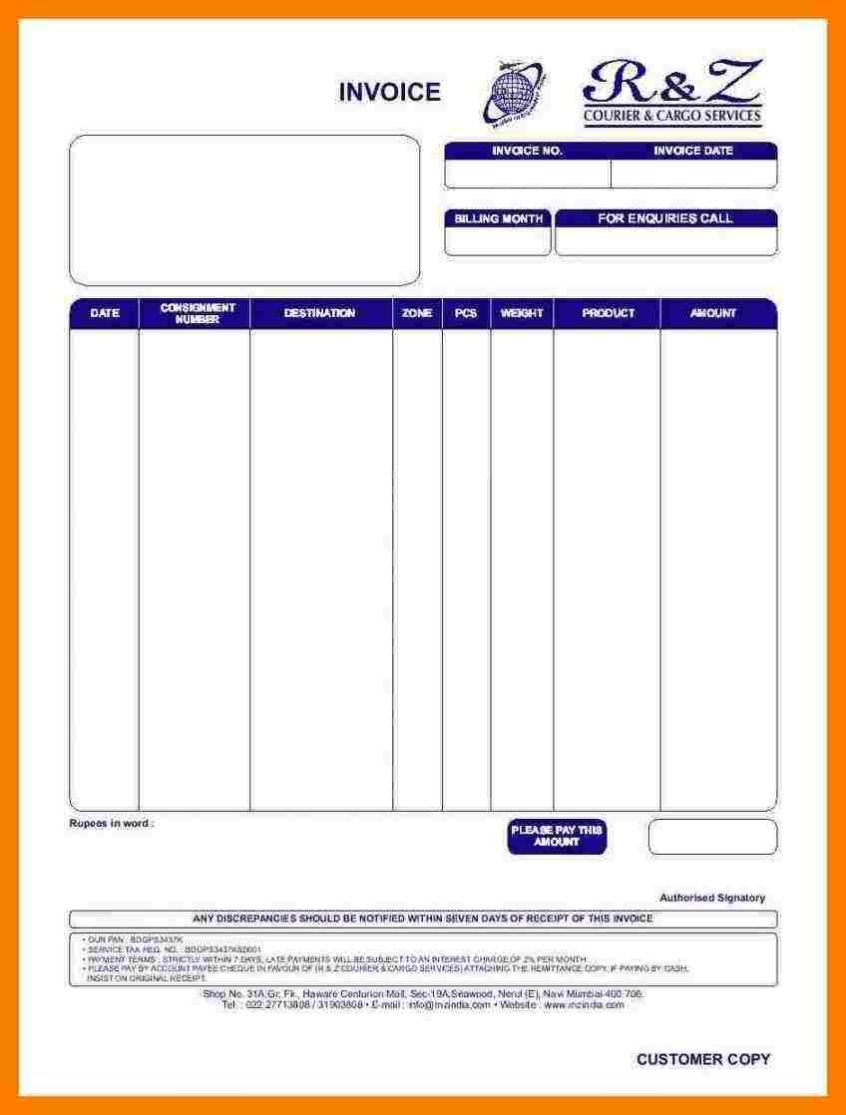invoice car travels bill format sample travel invoice tours car bill for travel