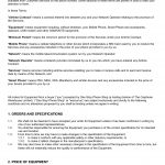 Payment Terms And Conditions Template
