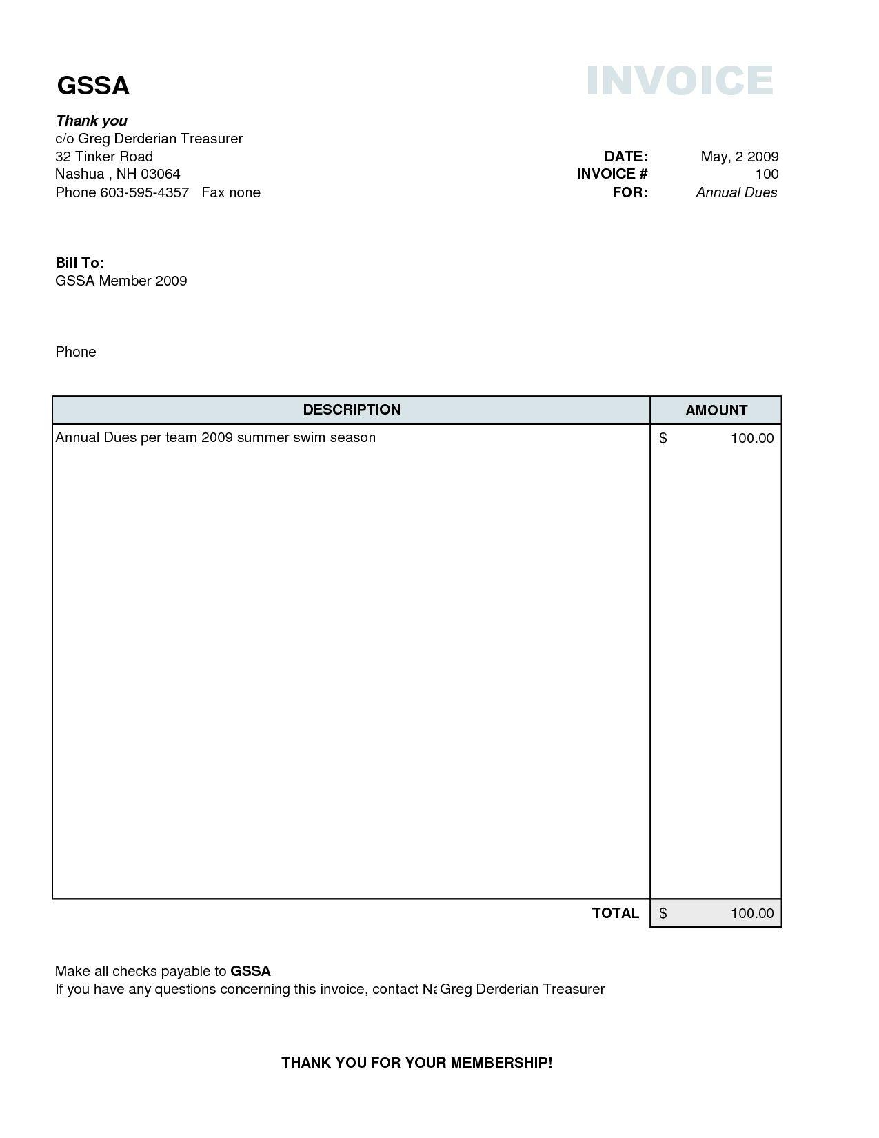 plain invoice template basic invoice template excel basic easy invoice template word