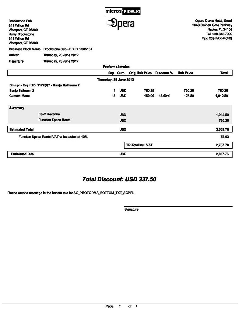 pro forma invoice repproformainvoicerep with function of proforma invoice