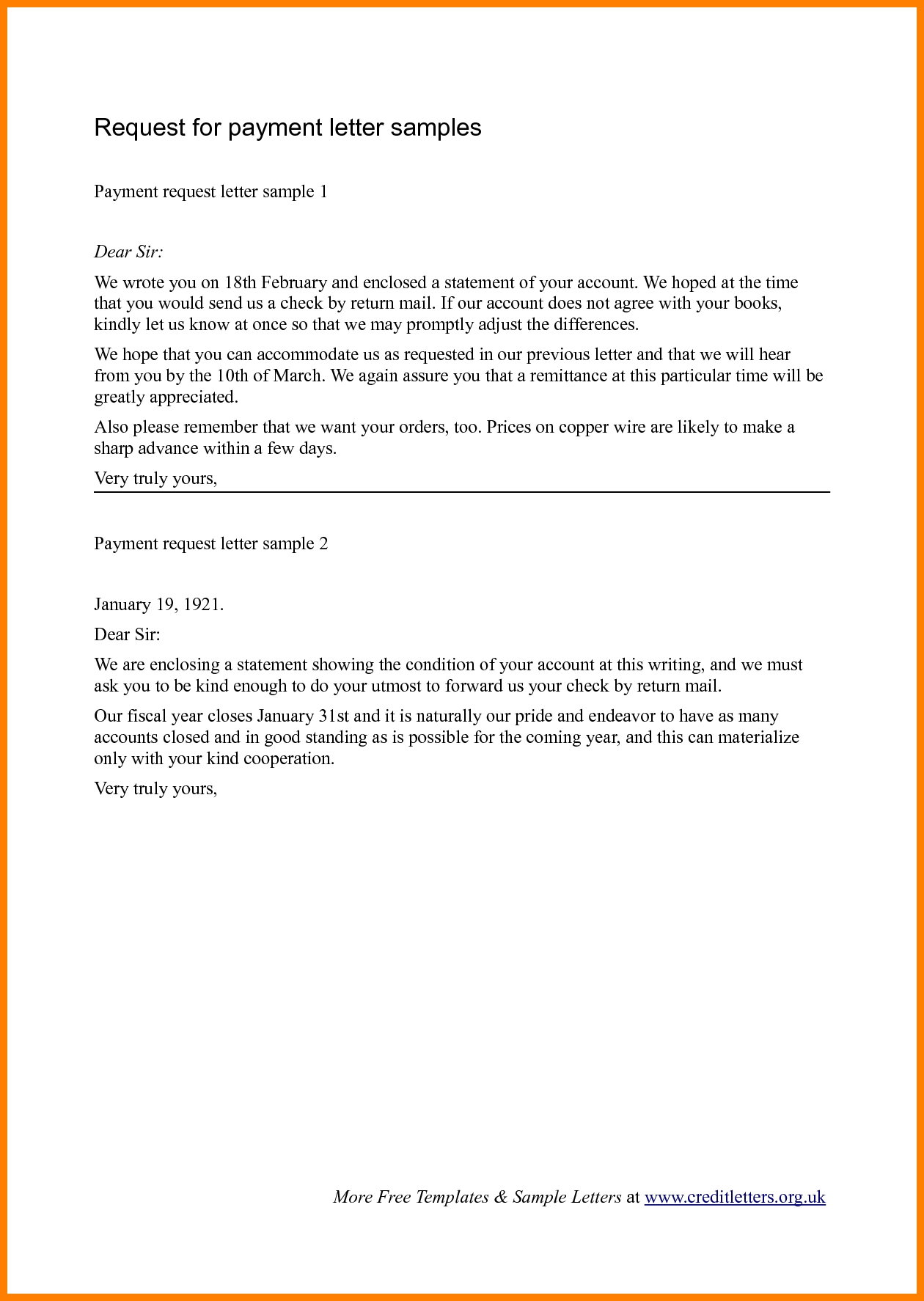 requisition letter format request letter for advance payment letter format for asking bill