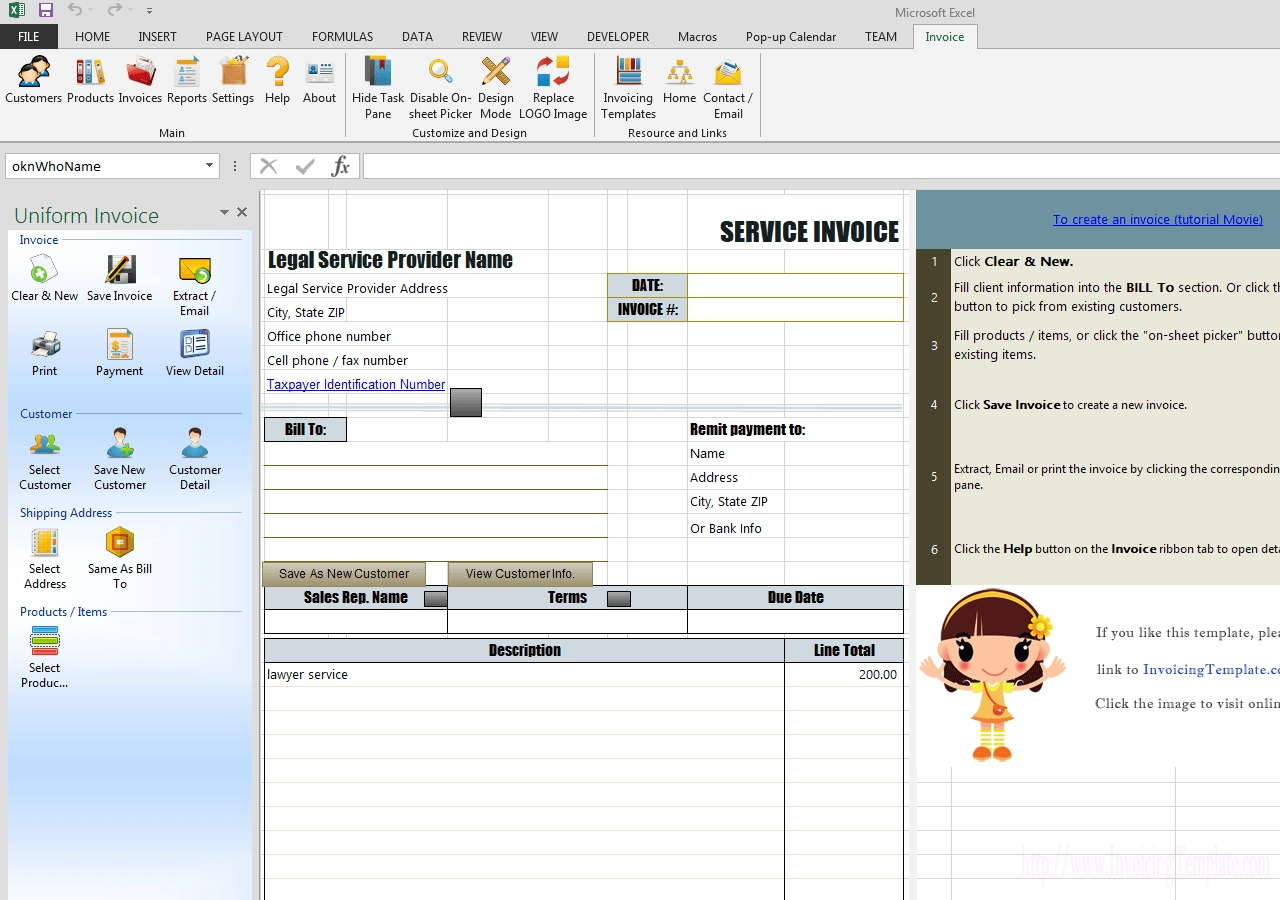 sample legal invoice in excel for services rendered sample letter explaining invoice for services rendered