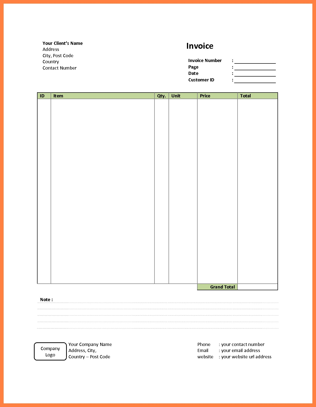 simple invoice template free luxury get invoice simple free simple invoice form