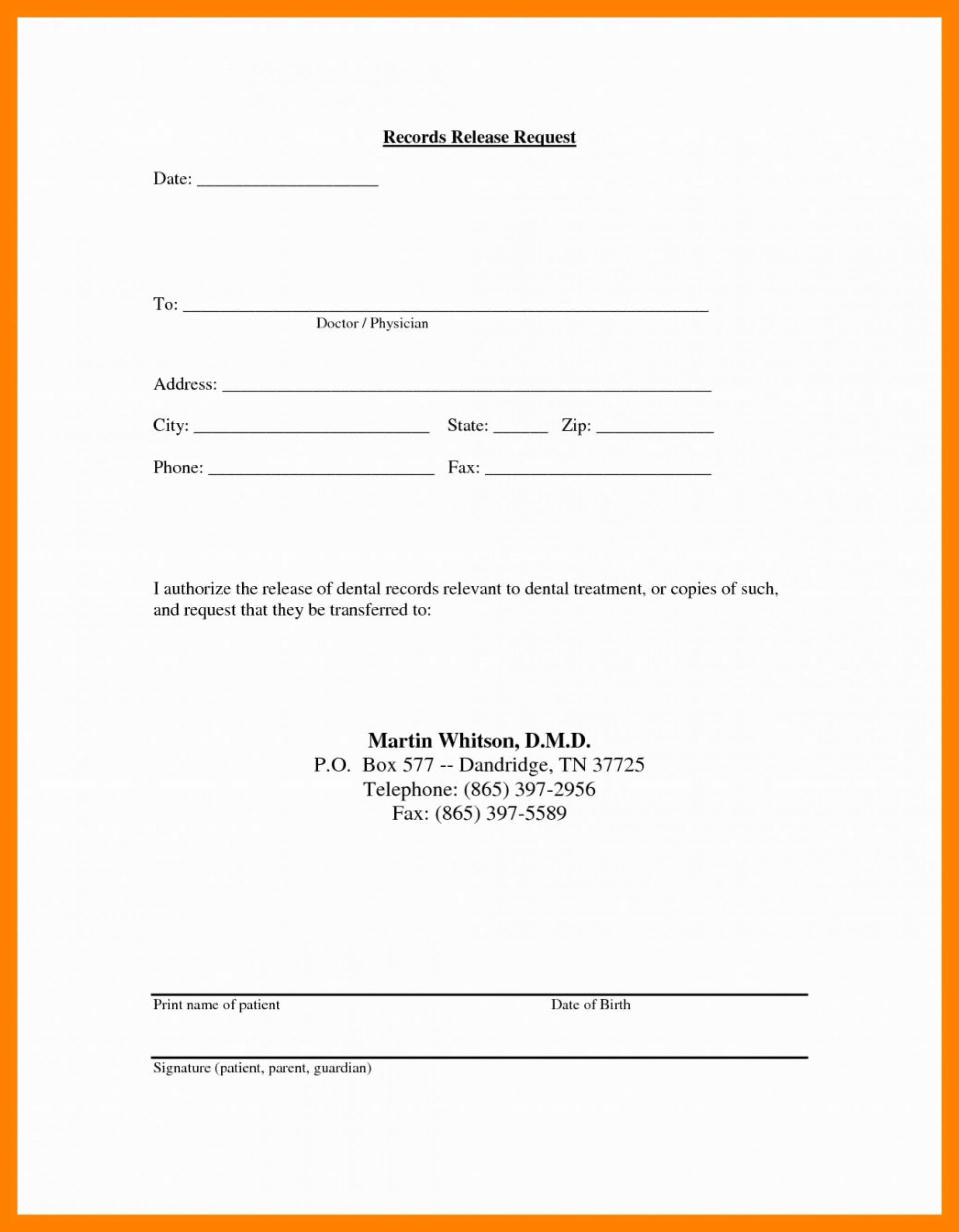010 request medical records release form template ideas invoice for medical records request