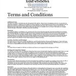 Custom Order Agreement Form Terms And Conditions
