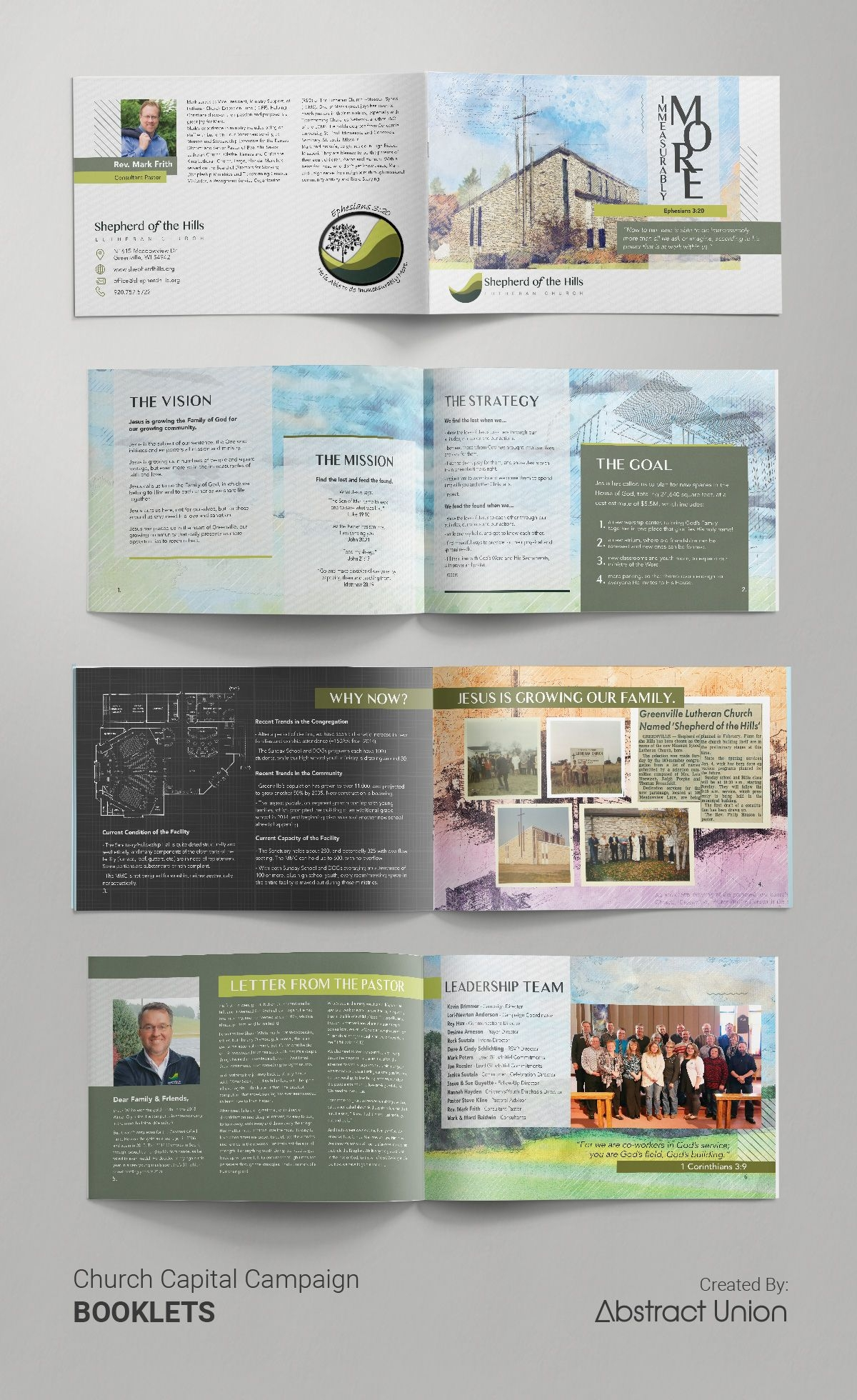 capital campaign brochures design ideas our client wanted examples of towing service brochures