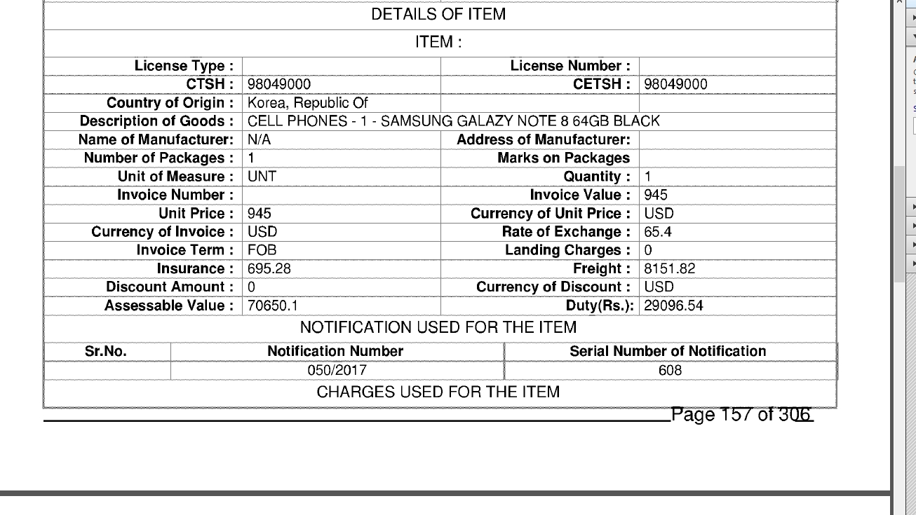 custom duty on iphone to india from usa 2019 gst tax gst invoice for mobile phone