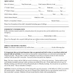 Home Child Care Contract Template