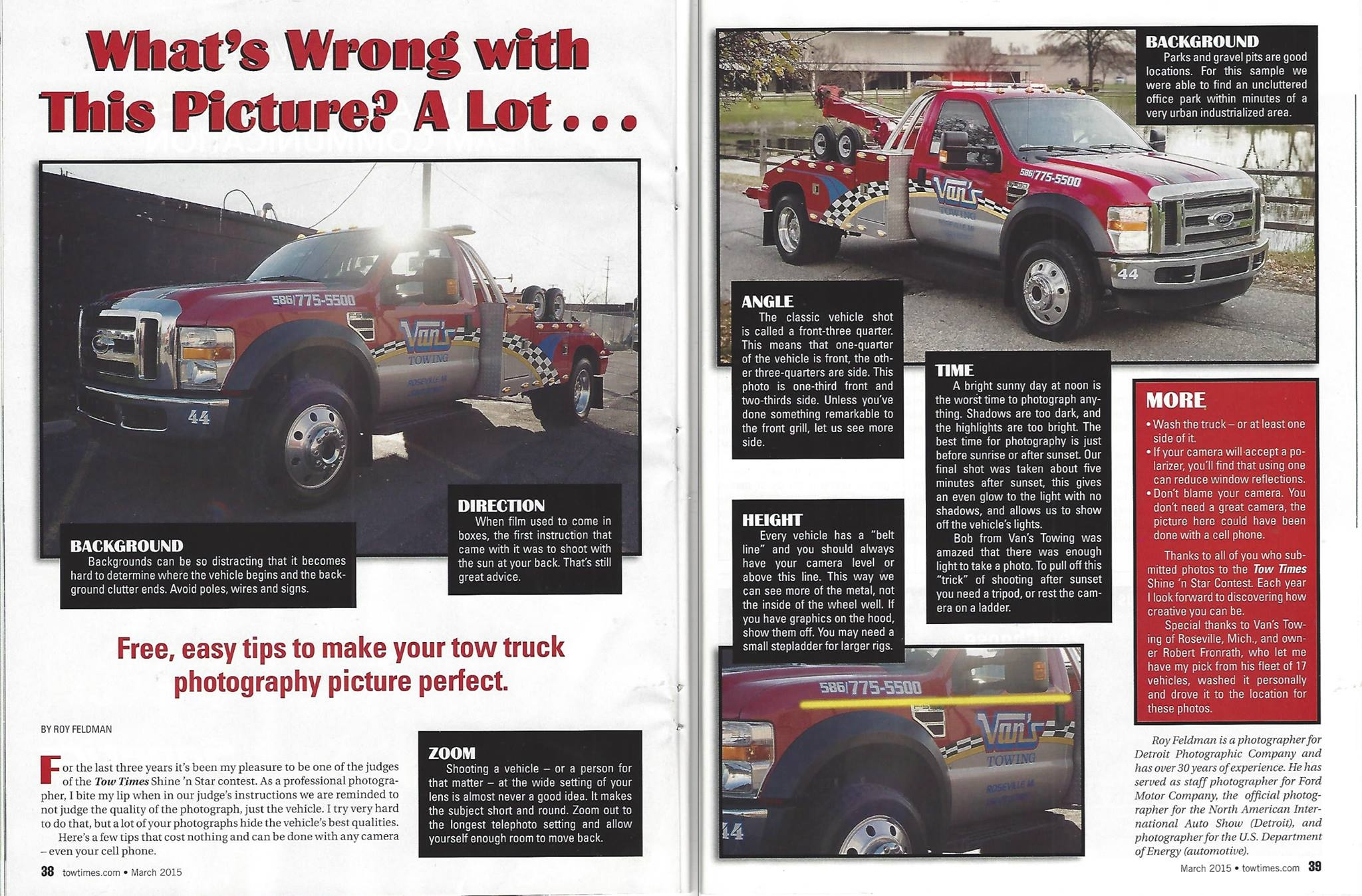 five tips for taking great tow truck pictures lift examples of towing service brochures
