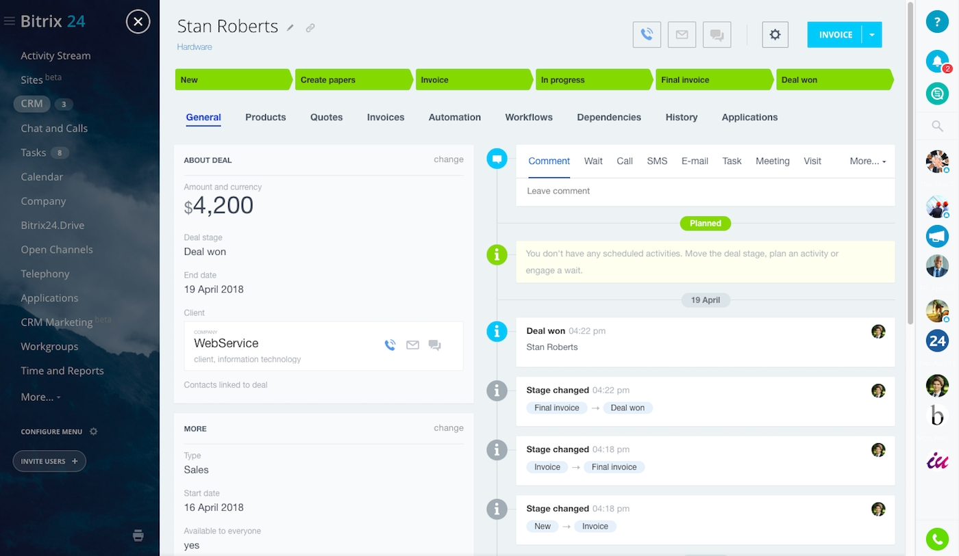 free business management software software for small business free