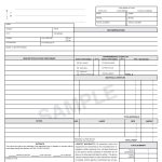 Hvac Invoice Form Free Download