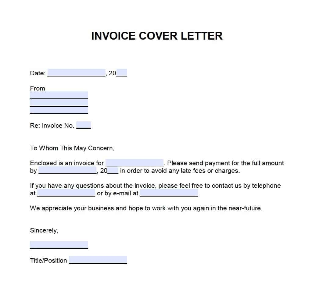invoice cover letter template onlineinvoice cover letter for an invoice