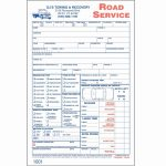 Sample Invoice Towing Company