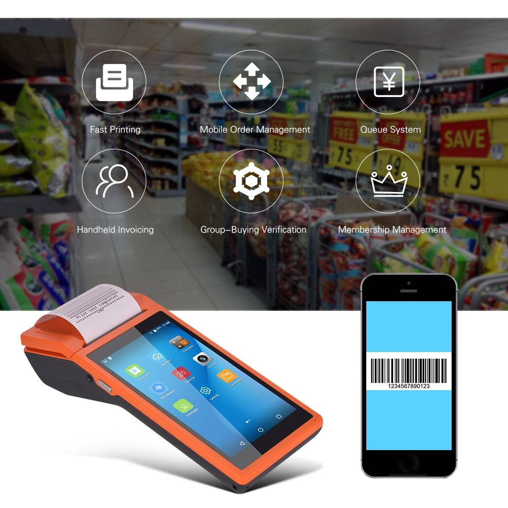 us 1180 30 offall in one handheld pda printer smart pos terminal wireless portable printers intelligent payment terminal function only eu plug in handheld devices for invoicing