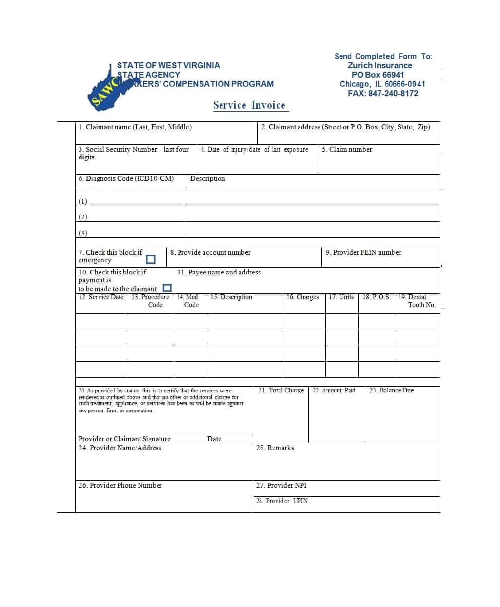 50 simple service invoice templates ms word template archive invoice for a service rendered