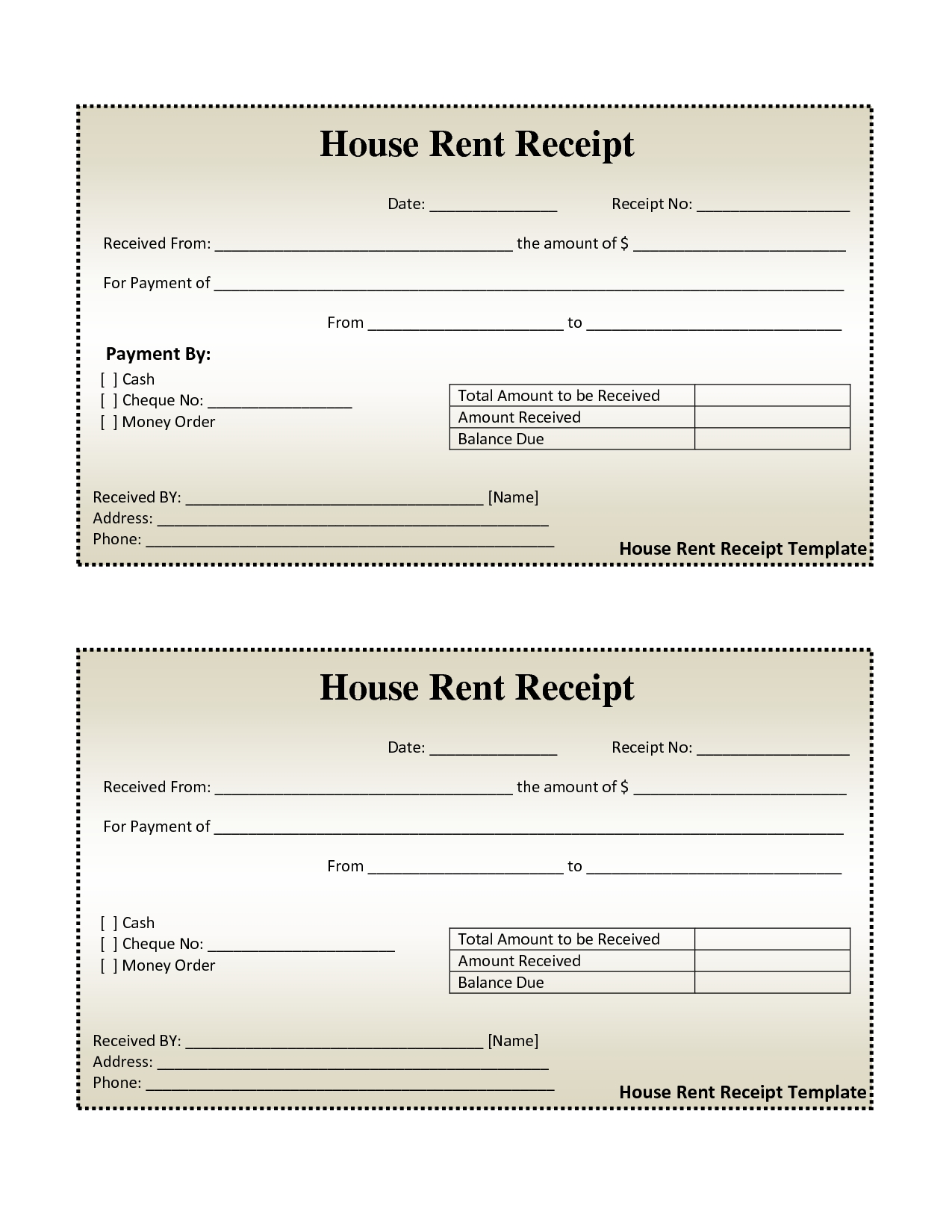 free house rental invoice house rent receipt template rental for taxi invoice