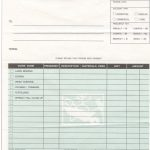 Landscaping Editable Invoice Template Excel