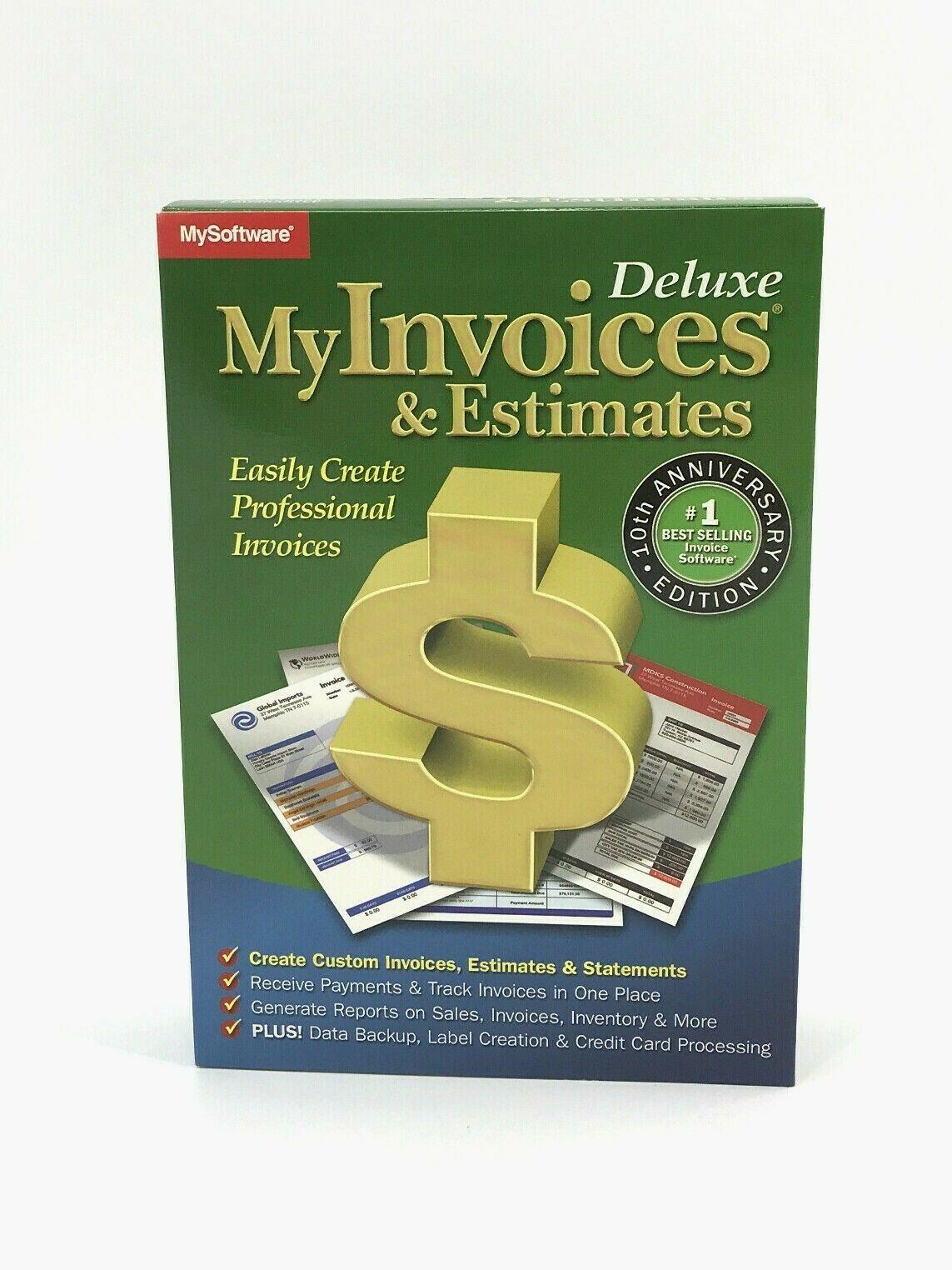 my invoices estimates deluxe 10 for windows professional 0602 myinvoices & estimates deluxe