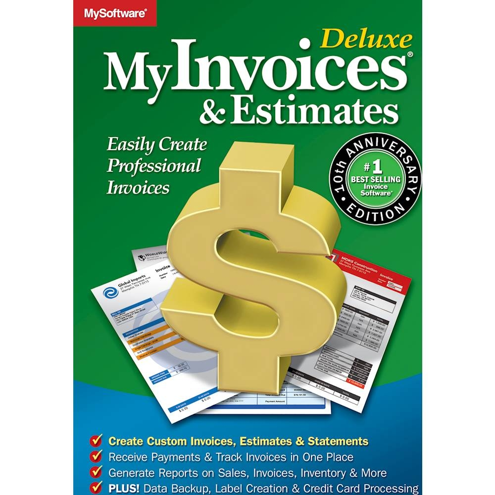 myinvoices estimates deluxe 10 windows digital myinvoices & estimates deluxe