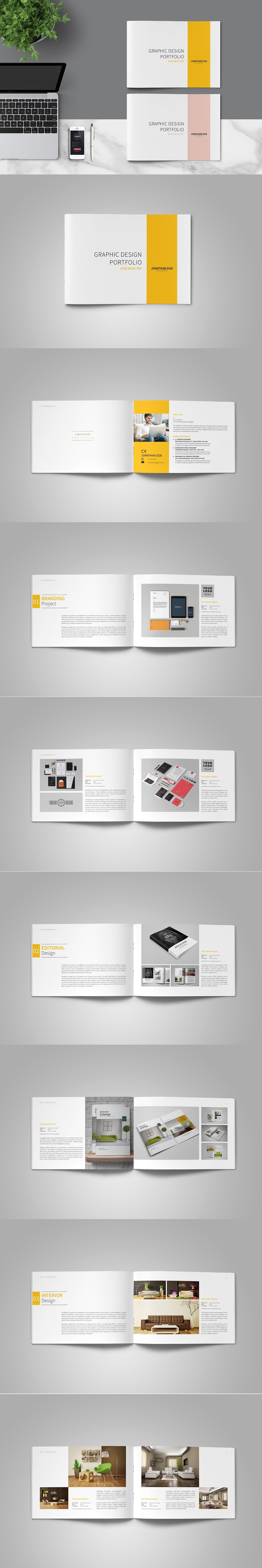 pdf portfolio templates hamlersd7 web design template of pdf