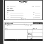 Rental For Taxi Invoice