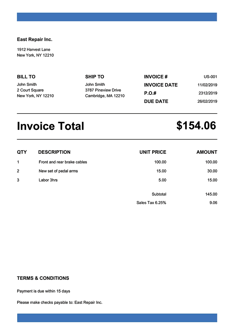 100 free invoice templates print email invoices create your own invoices free