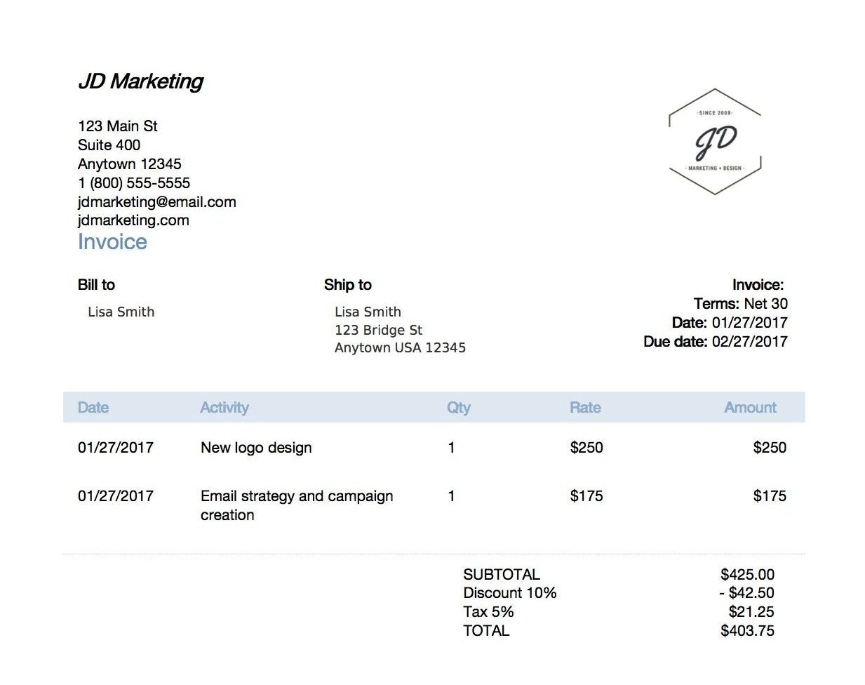 6 ways to get your invoices paid on time quickbooks late payment terms on invoice example