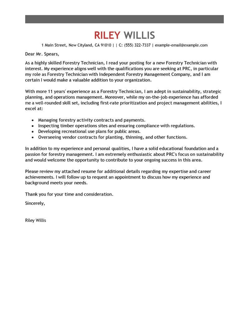best agriculture environment cover letter samples letter asking for a tool from the department