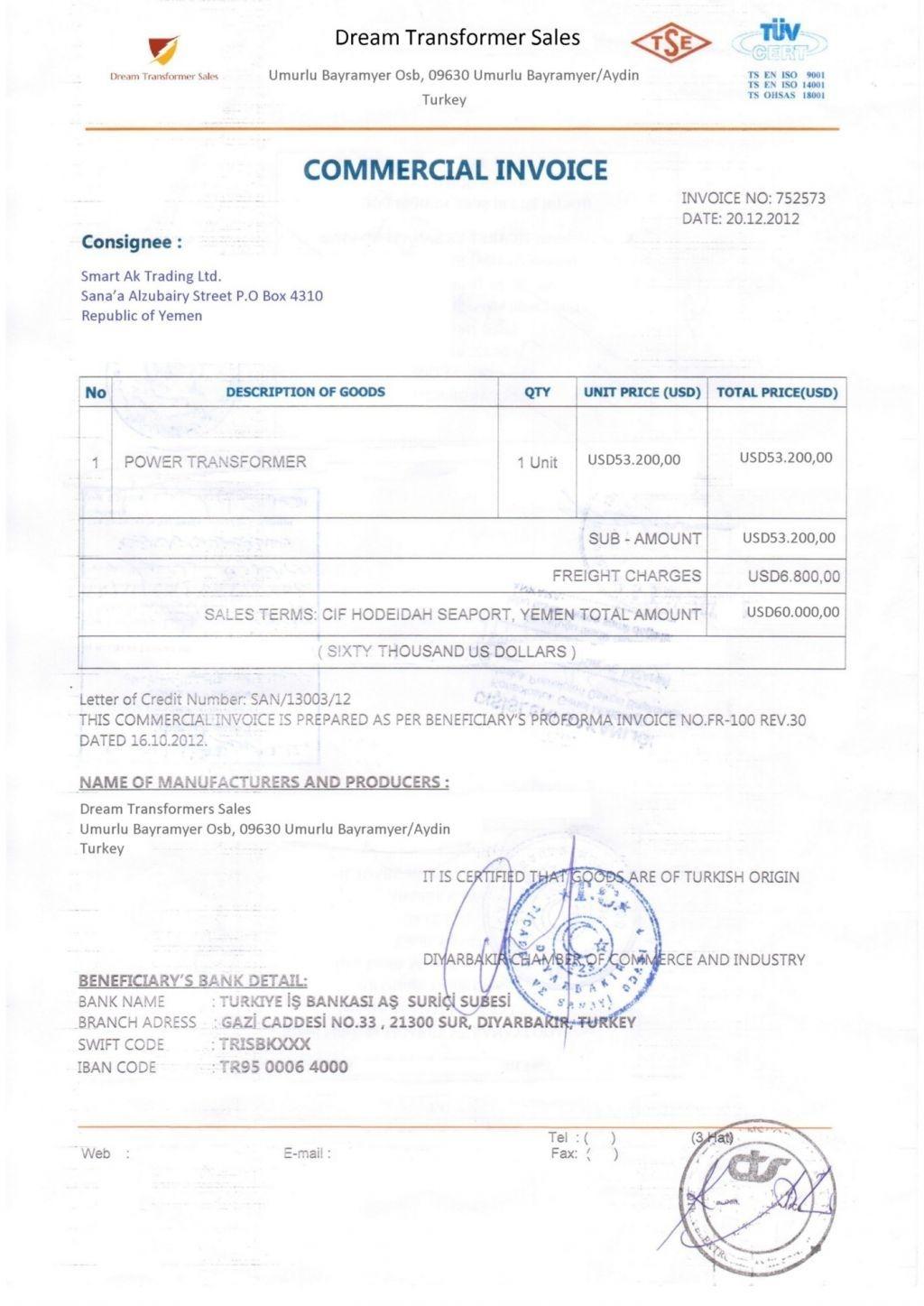 consular invoice format pdf invoicegenerator consular consular invoice sample pdf download