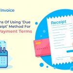 Invoice Due Upon Receipt Example
